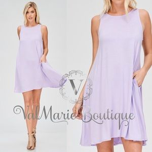 Lilac Swing dress